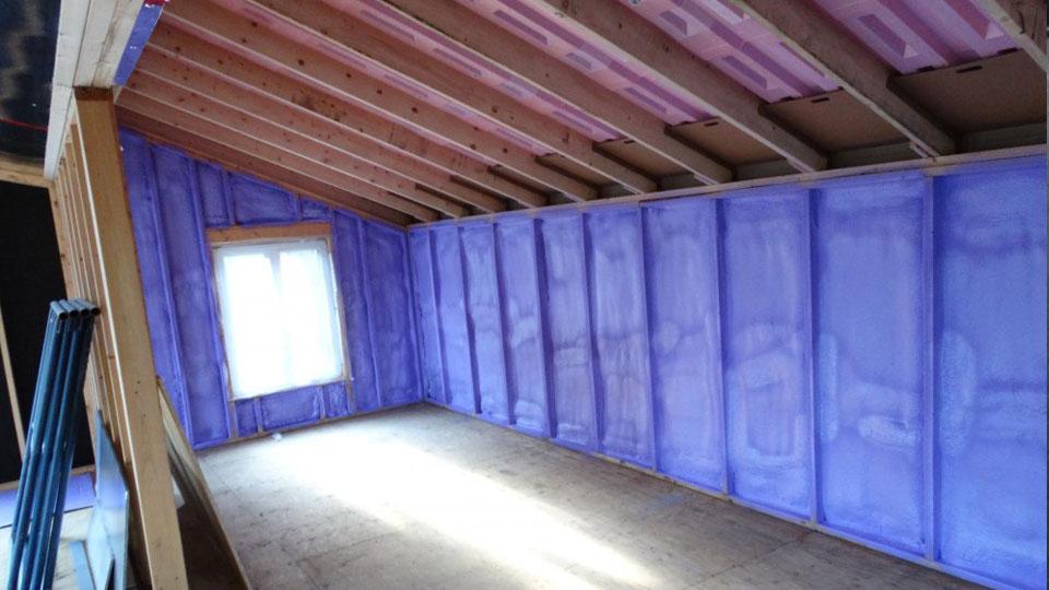 Pose isolation toiture à Dorval - Toiture Laurentides