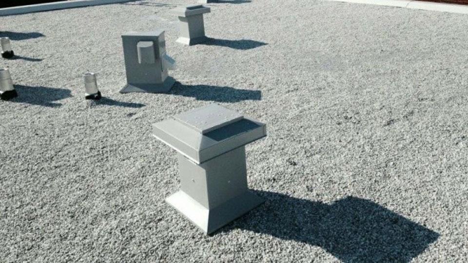 Toiture en asphalte et gravier résidentiel Dorval - Toiture Laurentides