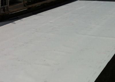 Installation de toiture membrane élastomère pour toit plat à Boisbriand - Toiture Laurentides