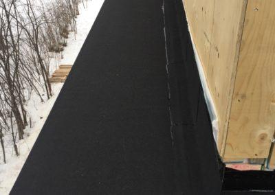 membrane élastomère pour toit plat Saint-Sauveur - Toiture Laurentides
