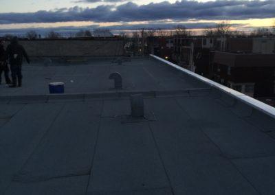 membrane élastomère sur toit plat Outremont - Toiture Laurentides