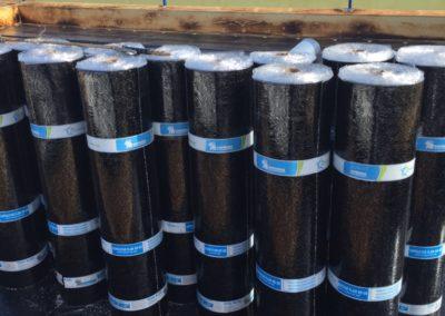 pose de membrane élastomère pour toit plat Laval - Toiture Laurentides