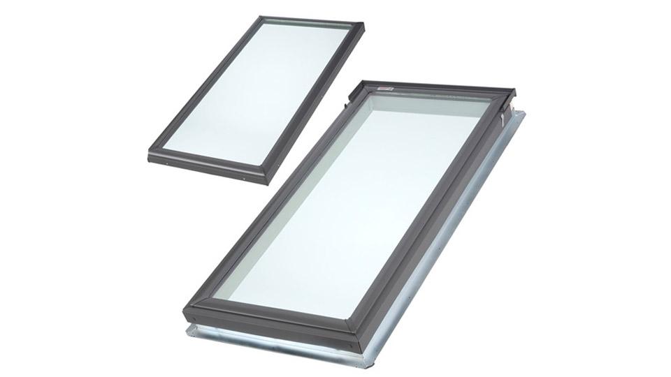 Pose et installation de puit de lumière sur toit plat Laurentides / Toiture Laurentides